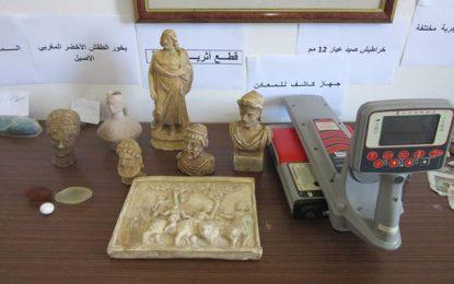 Un réseau de trafic de pièces archéologiques démantelé à Mahdia (Photos)