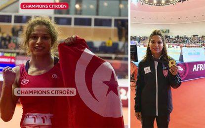 Le team Champions Citroën félicite la championne africaine de lutte Maroua Amri