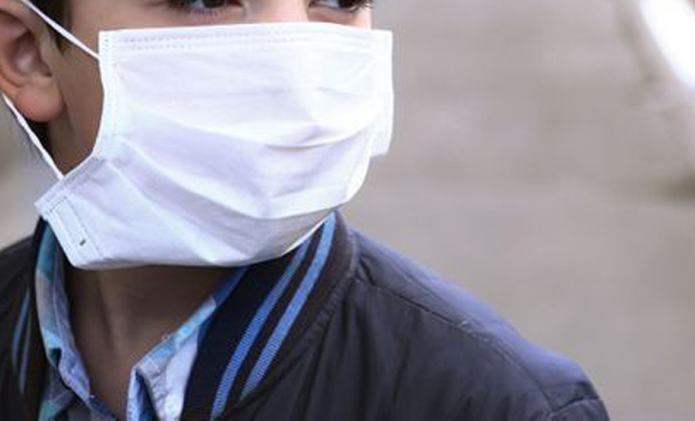 masque virus jetable