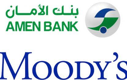Moody's attribue la notation «Perspectives stables» à Amen Bank