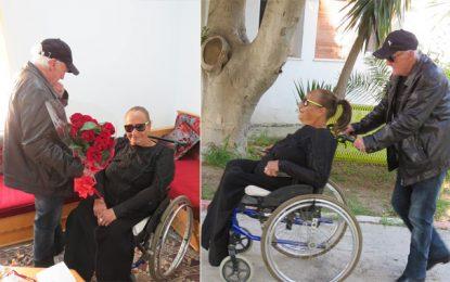 St Valentin : Fiançailles de Mounira et Noureddine au centre des retraités à la Manouba (Photos)