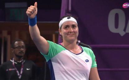 Ons Jabeur remporte son 1er match au Tournoi de Doha et se qualifie pour les 16e de finale (Vidéo)