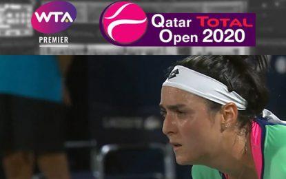 Qatar Total Open 2020 : Ons Jabeur affrontera Kateřina Siniaková, dimanche, à Doha (Vidéo)