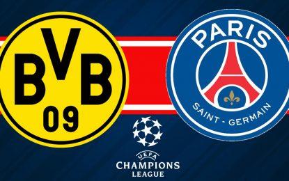 PSG-Dortmund en live streaming : 8e de finale aller LDC 2020
