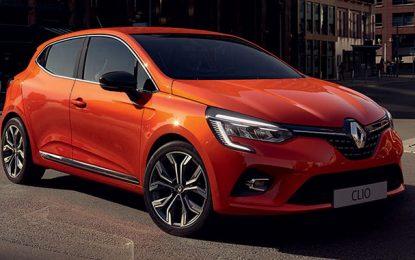 La Renault Clio en tête des ventes de véhicules particuliers en Tunisie en 2019