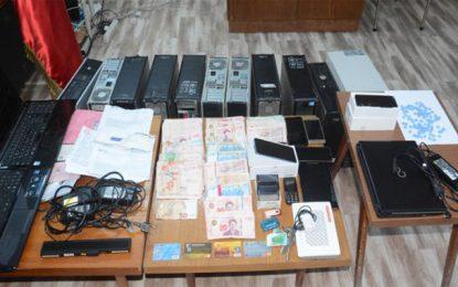 Un «centre d'appels» spécialisé dans le piratage de comptes bancaires étrangers : Quatre suspects arrêtés à Tunis (Vidéo)