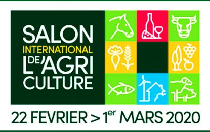 La Tunisie au Salon international de l'agriculture (SIA) à Paris (22 février-1er mars 2020)