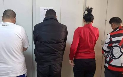 Sousse : Une Tunisienne et 3 Libyens arrêtés pour prostitution et trafic de drogue