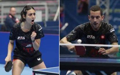 Tennis de Table : Fadwa Garci et Adam Hmam se qualifient aux JO de Tokyo 2020