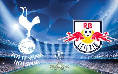 Tottenham-RB Leipzig en live streaming : 8e de finale aller LDC 2020