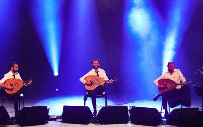 Tunis : Concert du Trio Joubrane à la M. C. Ibn Rachiq