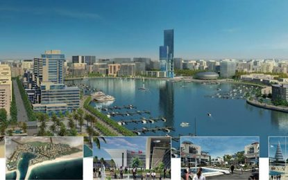 Le Tunis Bay Project utilisera les eaux usées de la capitale pour irriguer ses espaces verts