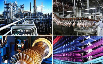 Tunisie : La production industrielle connaît une baisse de 7,4%
