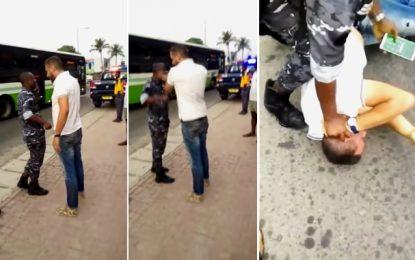 Le Tunisien qui a giflé un policier à Abidjan, condamné à 2 ans de prison ferme