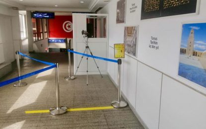 Aéroport Tunis-Carthage : Le nombre d'agents contaminés au coronavirus s'élève à 26