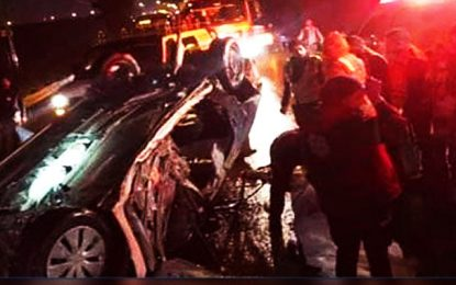 Mahdia : un accident coûte la vie à 6 personnes d'une même famille