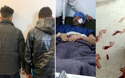 Agression au couteau du gardien du ministère des Technologies : Deux repris de justice en détention