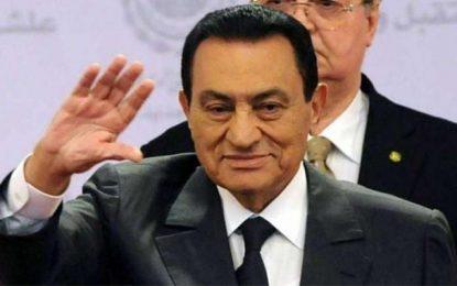 Egypte : Décès de l'ancien président Hosni Moubarak
