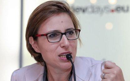 Lobna Jribi : Les bavettes réutilisables seront disponibles à partir du 4 mai