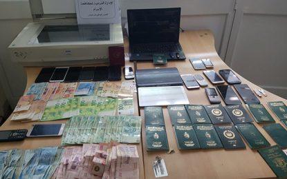 Tunisie : Un réseau de falsification de visas démantelé, 25 suspects, dont 3 étrangers, arrêtés