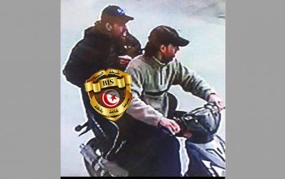 Tunisie : Les 2 terroristes sur leur moto, quelques instants avant de se faire exploser