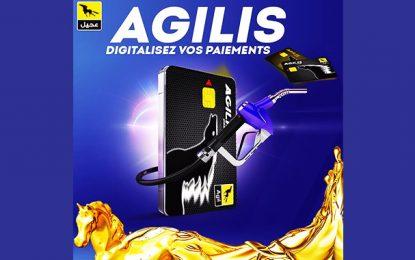 Agil conseille à ses clients  Agilis, une carte de paiement électronique sécurisé