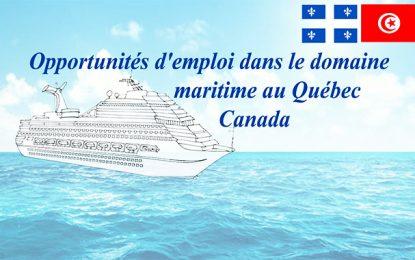 Tunisie : le Québec offre 27 opportunités d'emploi dans le domaine maritime