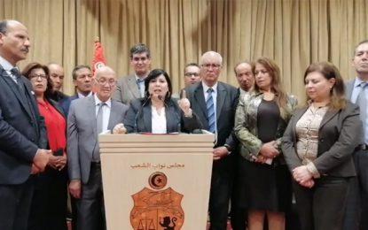 Abir Moussi porte plainte contre Al-Karama et alerte le Conseil des droits de l'Homme de l'Onu et l'Union interparlementaire