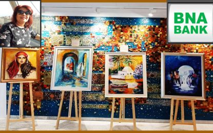 Exposition de Dalila Sellaouti Bouali à l'auditorium Théâtre By BNA