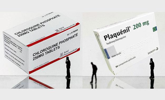 sulfate dhydroxychloroquine et diphosphate de chloroquine la revue