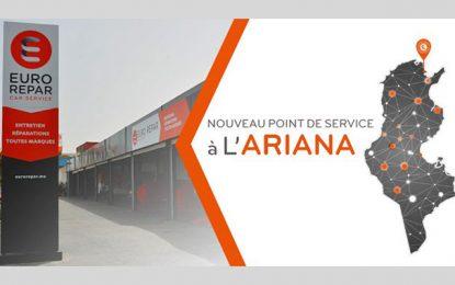 EuroRepar Car Service ouvre un point de service multi-marque à l'Ariana