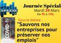Coronavirus :  Express FM consacre une journée au sauvetage des entreprises et à la préservation des emplois