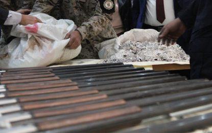 Contrebande : Saisie de 149 fusils et 110 kg de bijoux en argent à Tataouine (Photos)