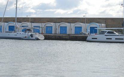 Coronavirus: Cinq étrangers placés à l'isolement, par précaution, dans leurs yachts à Hammamet (Photos)
