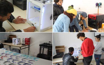 Iset Sidi Bouzid : Livraison, chaque jour, de 50 visières de protection imprimées en 3D