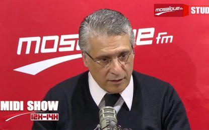 Karoui reprend les armes contre Chahed et l'accuse de l'avoir mis en prison