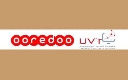Ooredoo offre la connexion Internet gratuite aux étudiants de l'Université Virtuelle de Tunis