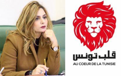 La députée démissionnaire de Qalb Tounes, Amira Charfeddine, ne sait plus sur quel pied danser