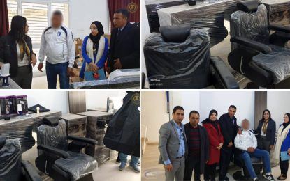 Récemment sorti de la prison El-Houareb, un jeune ouvre un salon de coiffure financé par l'Etat