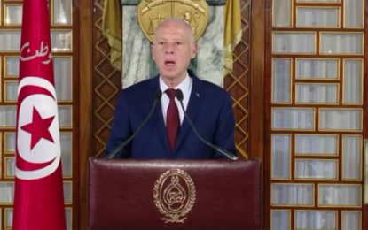Coronavirus : Le président Saïed annonce le confinement total en Tunisie (Vidéo)