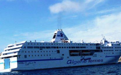 Coronavirus : l'équipage d'un ferry algérien venant de Marseille placé en isolement à Bizerte