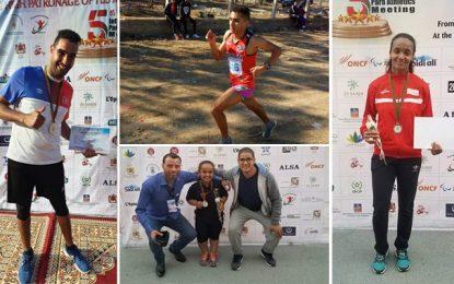 La Tunisie décroche 9 médailles, dont 2 en or, au Meeting international de para-athlétisme de Marrakech (Photos)