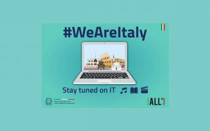 Malgré le Covid-19, l'Italie affiche sa vitalité : #WeAreItaly #StayTunedOnIt