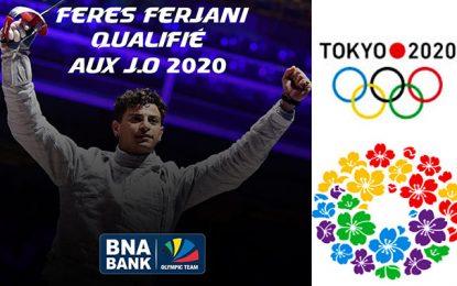 BNA Olympic Team : le sabreur Feres Ferjani vient de se qualifier aux Jeux Olympiques de Tokyo 2020
