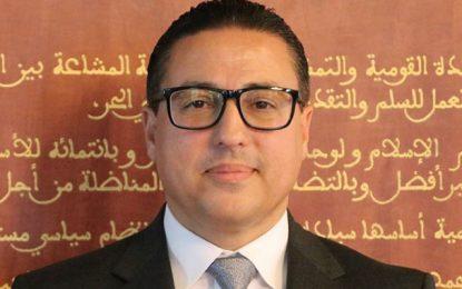 Hichem Ajbouni élu nouveau président du Bloc démocrate au parlement