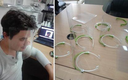 Coronavirus : Des masques fabriqués par des étudiants de l'Éniso pour l'hôpital Farhat Hached de Sousse