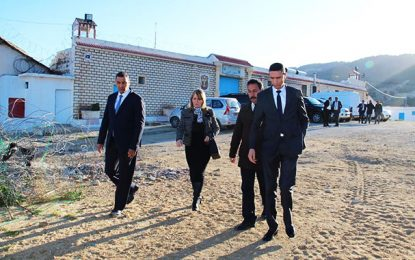 La ministre de la Justice inspecte les établissements pénitentiaires et correctionnels du nord-ouest