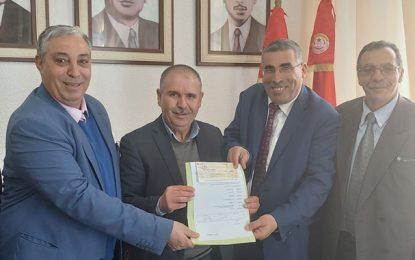 Santé : L'UGTT fait don de 100.000 DT à l'hôpital régional de Kasserine