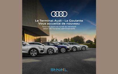 Ennakl Automobiles annonce la réouverture du terminal Audi à la Goulette