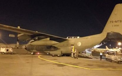 Coronavirus :  56 Tunisiens rapatriés d'Angleterre à bord d'un avion militaire